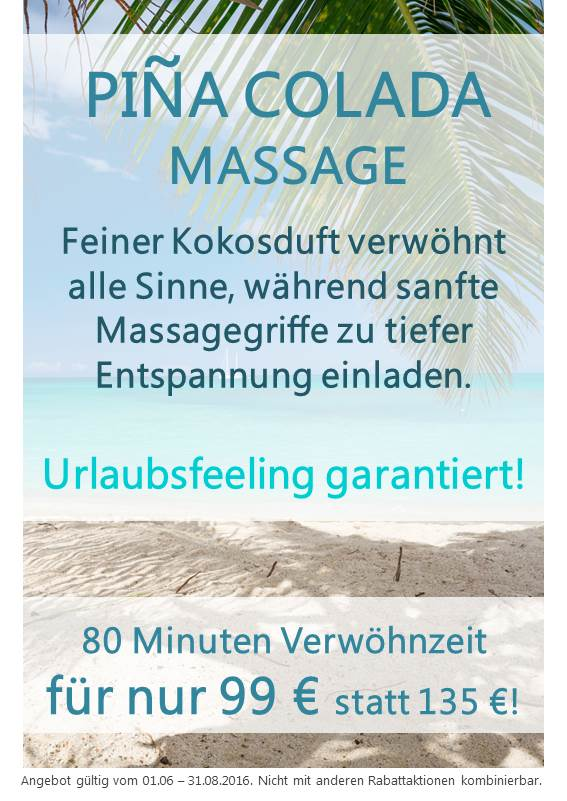 Pina Colada Massage