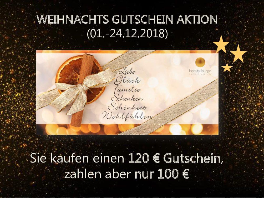 Weihnachts-Aktion 2018 - Beauty Lounge in Bad Dürkheim